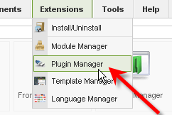 Tutorial Screenshot: Plugin Manager