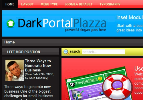 DarkPortal Plazza